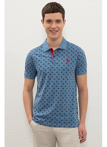 U.S. Polo Assn. Tişört İndigo